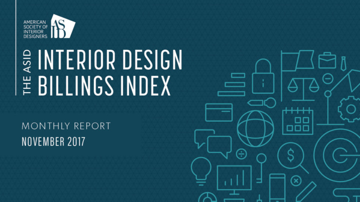 ASID Interior Design Billings Index (IDBI) November 2017 Report