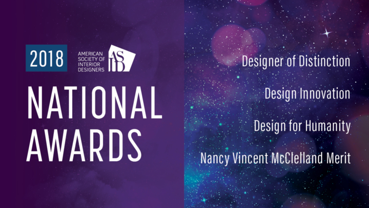 2018 ASID National Award Winners Announced