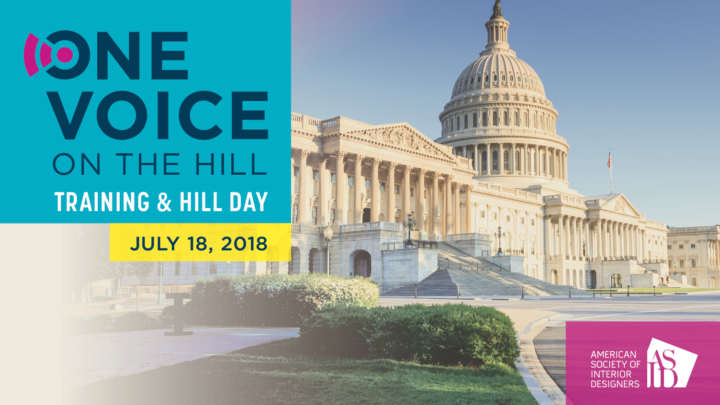 ASID Members Took Charge on Capitol Hill