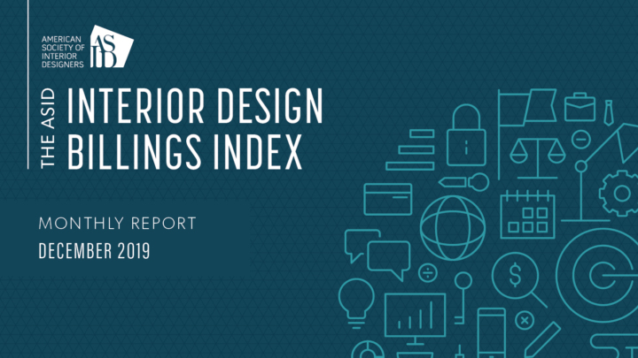 ASID Interior Design Billings Index (IDBI) - December 2018