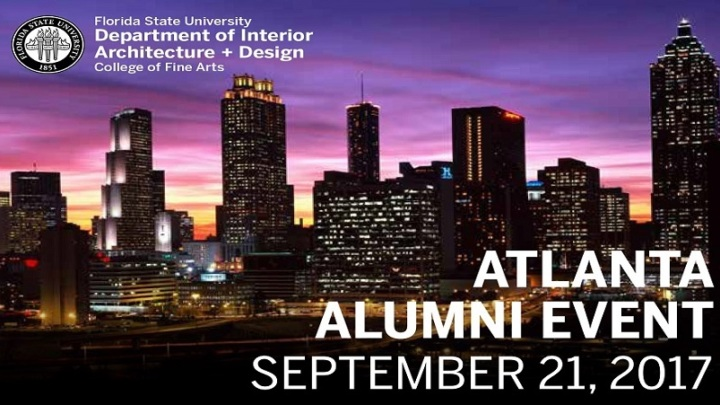 fsu interior architecture design alumni reception atlanta