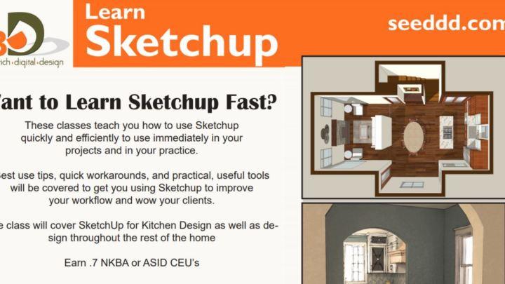 Sketch Up Class Ceu