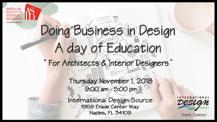 Doing Business In Design A Day Of Education Naples