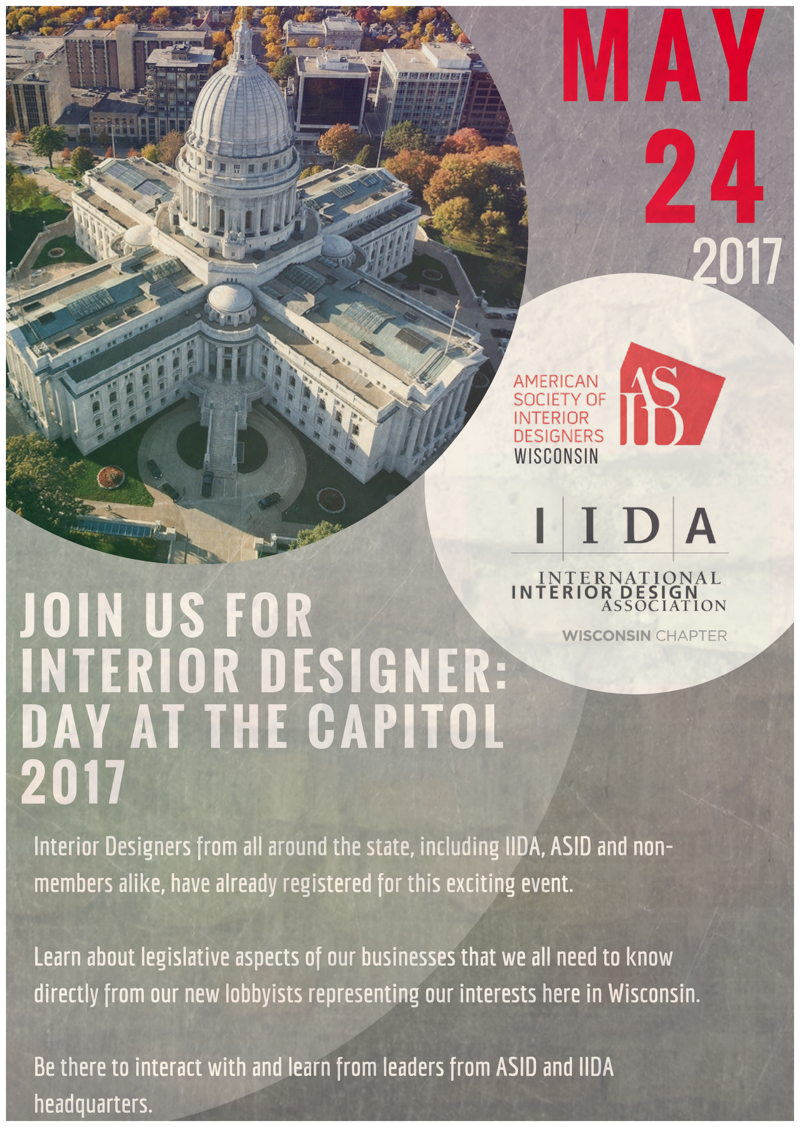 Join Us For The Interior Designers Day At Capitol 2017 Where We Will Have A Legislative Panel Discussion With ASID And IIDA National Chapter