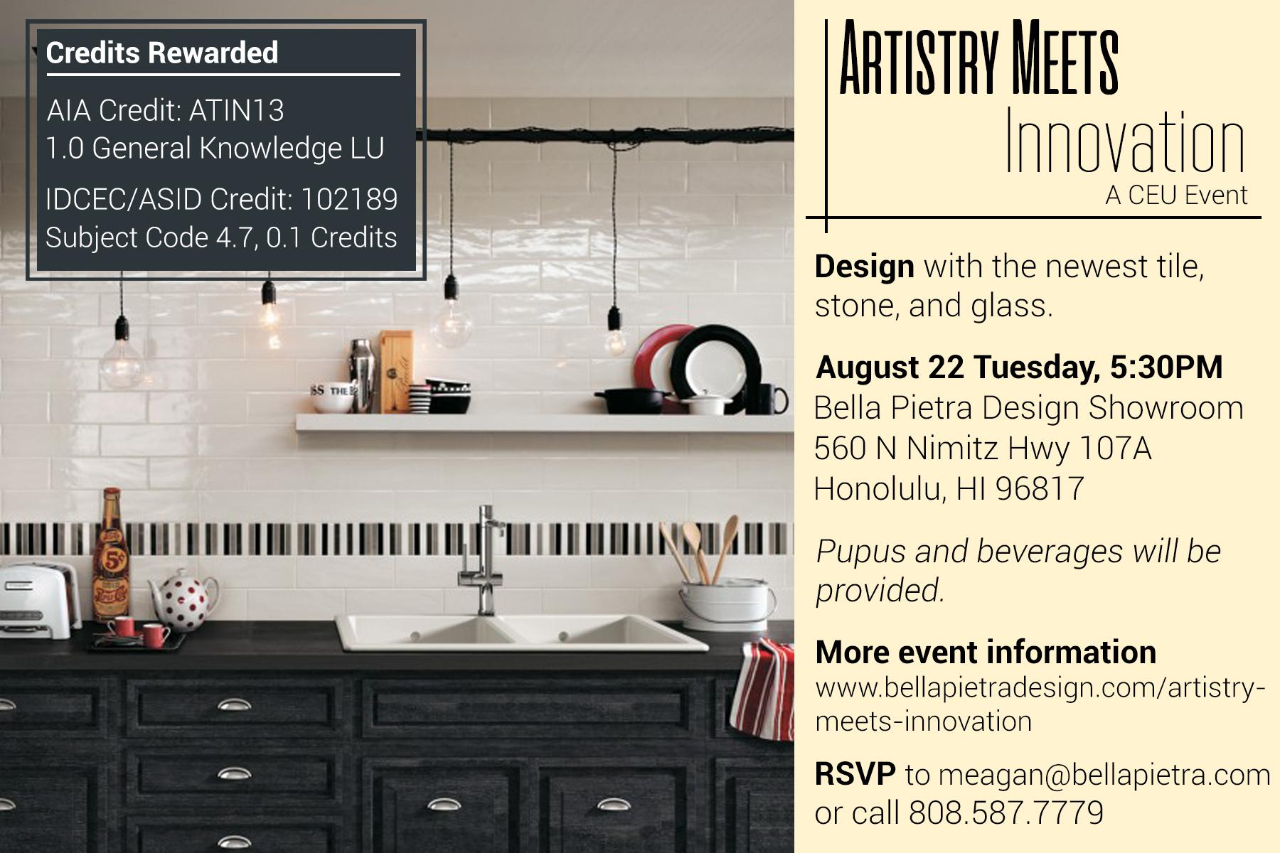 CEU Event Artistry Meets Innovation