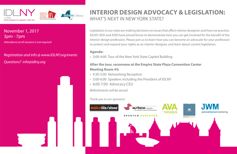 Interior Design Advocacy Legislation Whats Next In NYS
