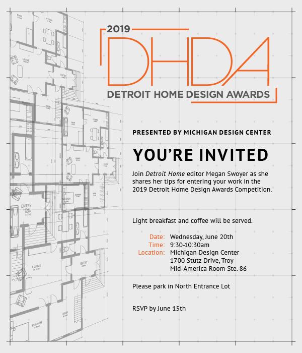 Detroit Home Design Awards Kickoff Breakfast