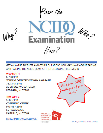 NCIDQ Exam Q&A Sessions