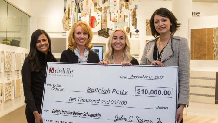 Daltile Announces Winners of Sixth Annual Interior Design Scholarship  Competition