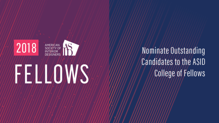 ASID Announces 2018 Fellows and Honorary Fellows