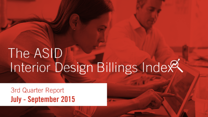 ASID Interior Design Billings Index 2015 Third Quarter Report