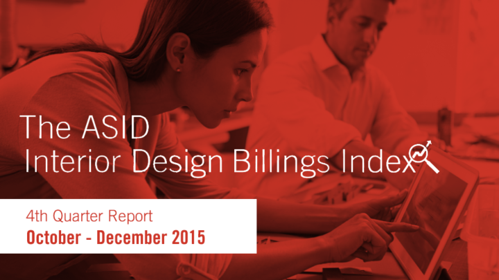ASID Interior Design Billings Index 2015 Fourth Quarter Report