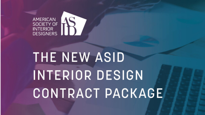 ASID Interior Design Contract Package