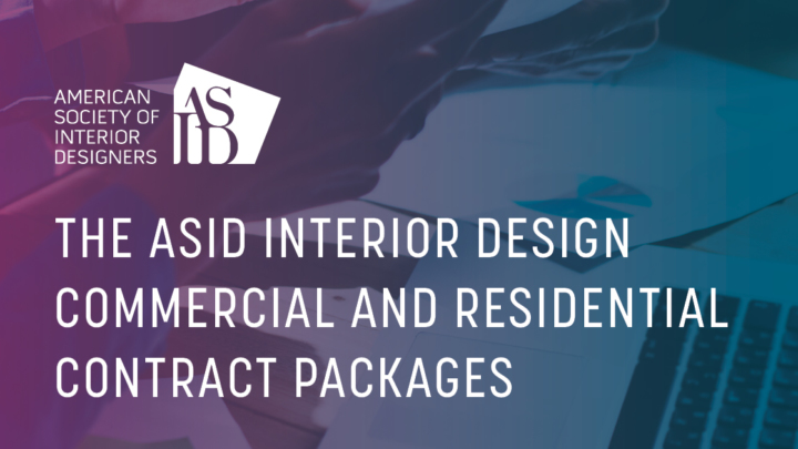 ASID Interior Design Residential and Commercial Contracts Package